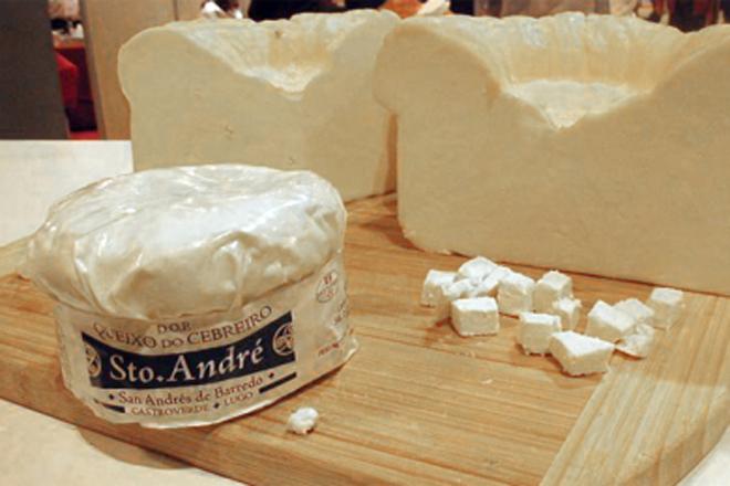 Santo André Xoven, da DO Cebreiro, elixido mellor queixo novo de vaca de España