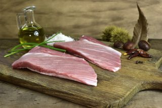 The secrets of Coren's Selecta Range, pork from pigs fed with chestnuts