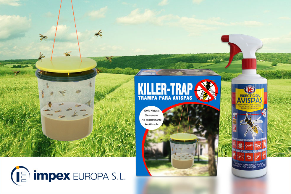 Impex Europa: insecticidas e trampas made in Galicia contra as avespas