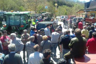 Las heladas y la sequía amenazan con la ruina a los productores de la montaña de Ourense