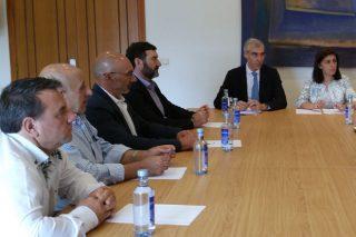 Reunión da Xunta coas 6 cooperativas que se fusionan en Aira