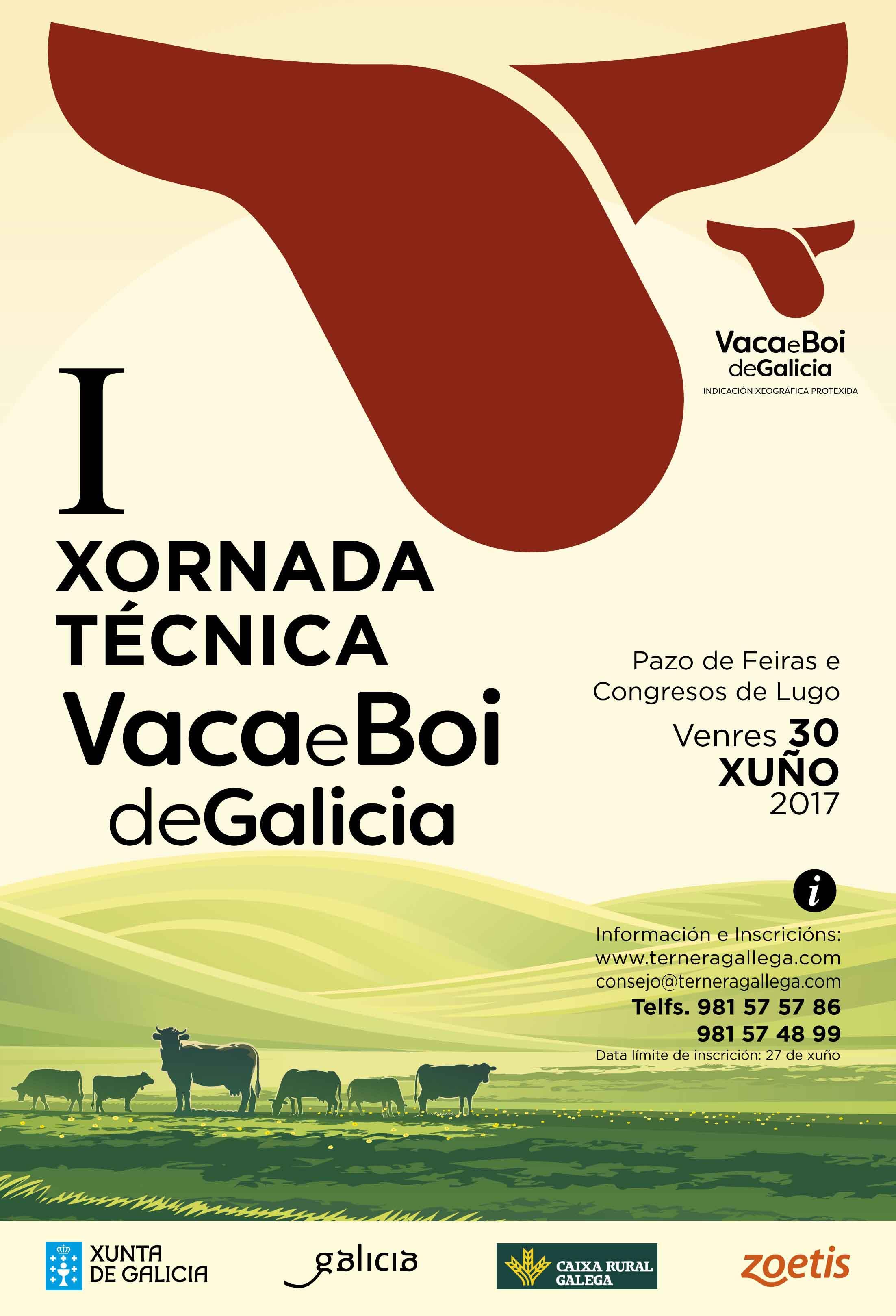 Primeira xornada técnica da IXP Vaca e Boi de Galicia