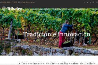 www.ribeiro.wine , a nova páxina web da D.O. Ribeiro