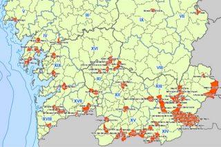 Ourense concentra o 60% dos puntos negros incendiarios de Galicia