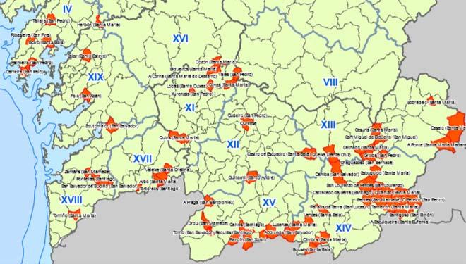 Ourense concentra el 60% de los puntos negros incendiarios de Galicia