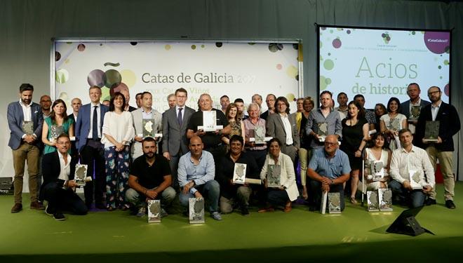 Premiados en las Catas de Galicia