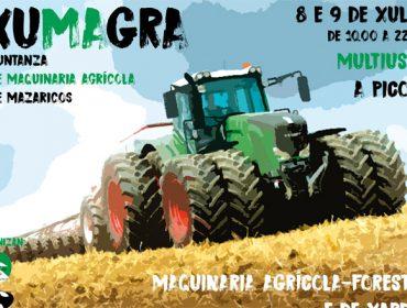 Mazaricos celebra este fin de semana a súa primeira feira de maquinaria agrícola