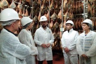 Torre de Núñez prevé duplicar a súa produción de xamóns en tres anos