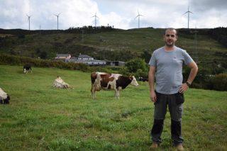 David Arnoso: un gandeiro de leite que soubo tirar o máximo proveito da montaña