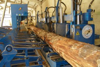 A cadea da madeira logra un novo récord en exportacións