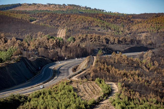 O gran incendio de Verín pon en evidencia o abandono do rural galego