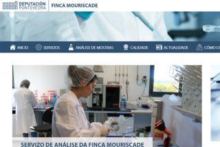 Nova web da Finca Mouriscade para mellorar o servizo ao sector gandeiro