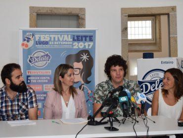 O día 23 celebrarase en Lugo o Festival do Leite