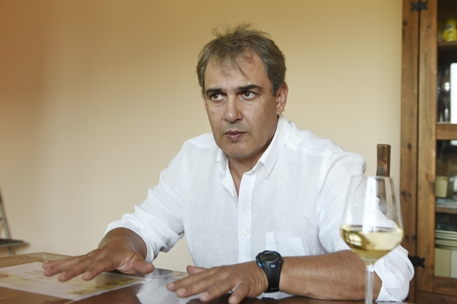 José Luis García Pando entrevista valdeorras