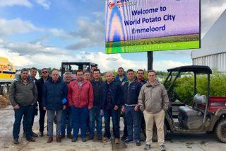 Produtores de pataca da Limia visitan Holanda, referente europeo no sector