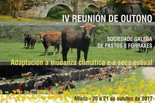 O cambio climático centra a reunión de outono da Sociedade Galega de Pastos e Forraxes