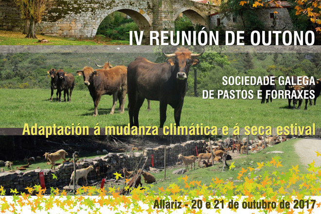 El cambio climático centra el programa de la reunión de otoño de la Sociedad Gallega de Pastos e Forraxes