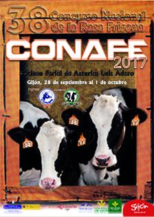 Programa do Concurso Nacional CONAFE17 da Raza Frisoa