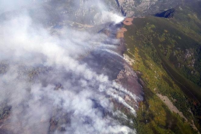 A Xunta proxecta impulsar un seguro contra incendios forestais