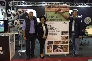 Embriomarket organiza unha poxa de gando frisón de élite de ganderías de toda Galicia