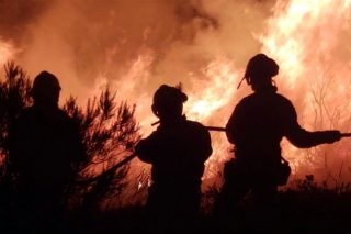 Cursos en extinción de incendios y en aspectos de la industria forestal