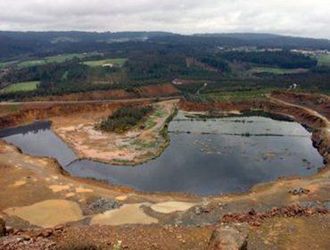 Tractorada contra a mina de Touro e O Pino o 25 de febreiro