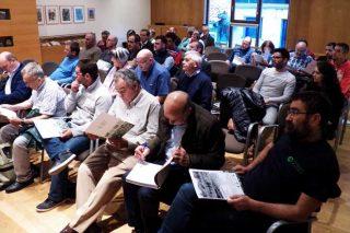 Asistentes á reunión de outono da Sociedade Galega de Pastos.