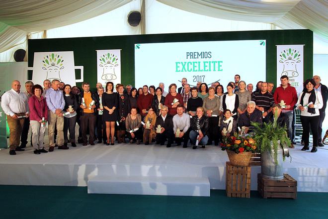 Listado de ganderías de Galicia gañadoras dos premios á mellor calidade sanitaria do leite