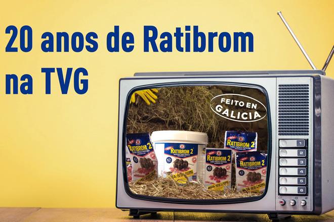 O anuncio de Ratibrom, un clásico da publicidade en Galicia que cumpre 20 anos