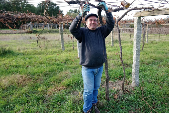 Roberto Rivas é reelixido presidente da Asociación Galega de Viticultura