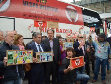 Crónica da marcha Stop Velutina de Santiago a Bilbao para esixir solucións á administración