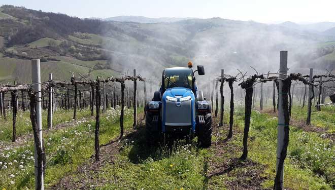 Tractores BCS Volcan K105, alta gama especializada en viñedo