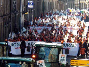 """A montaña galega demanda """"medidas reais"""" fronte á seca e os lumes"""