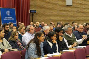 Público asistente á xornada.