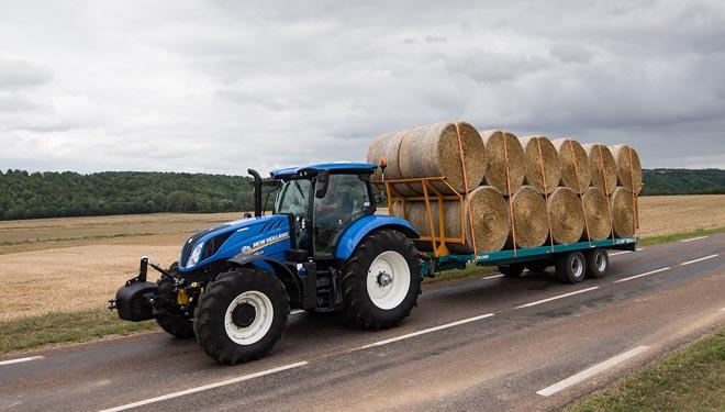 New Holland introduce unha nova transmisión de potencia na súa serie de tractores T6