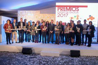 Premiados na XX Cata dos Queixos e XVI Cata dos Meles de Galicia