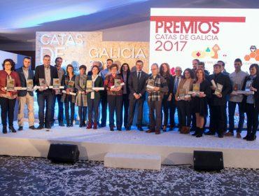 Premiados en la XX Cata de los Quesos y en la XVI Cata de las Mieles de Galicia