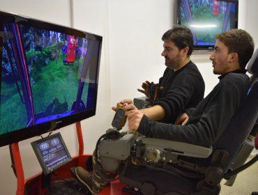 Realidad virtual para formar en el manejo de autocargadores y procesadoras forestales
