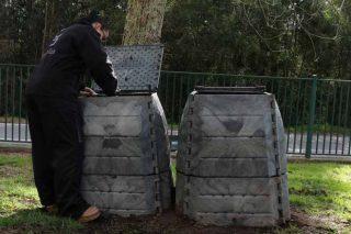 A Deputación de Pontevedra distribuirá 1.500 composteiros individuais entre veciños do rural