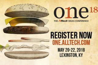 ONE: The Alltech Ideas Conference  ofrecerá una perspectiva global al sector del vacuno de carne