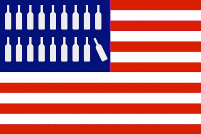Así evolucionan as vendas de viños a Estados Unidos, o principal importador mundial