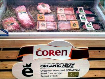 COREN comienza a comercializar carne de cerdo y de ternera ecológicos