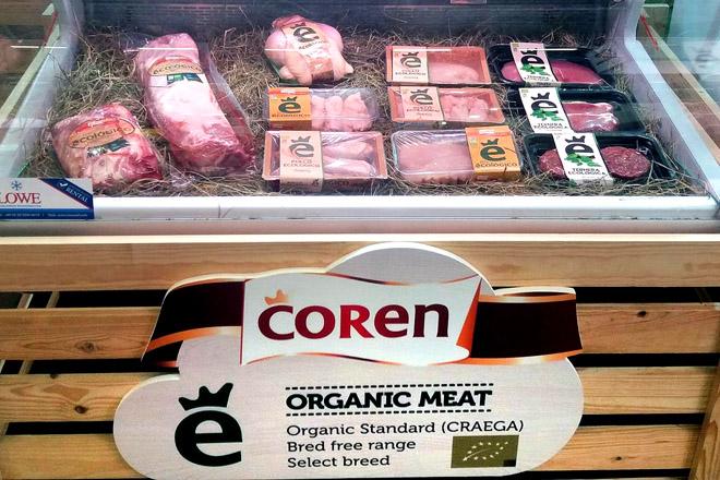 COREN comeza a comercializar carne de porco e de tenreira ecolóxicos