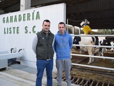 Gandería Liste SC: exemplo dunha nova xeración formada que toma o relevo no sector lácteo