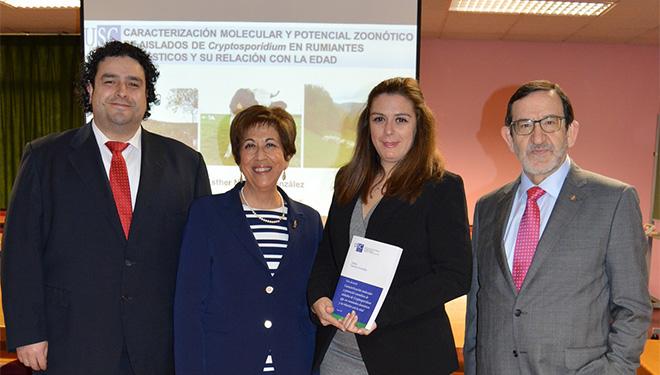 Veterinaria advirte dos riscos polo parasito 'Cryptosporidium' nas granxas galegas de ruminantes