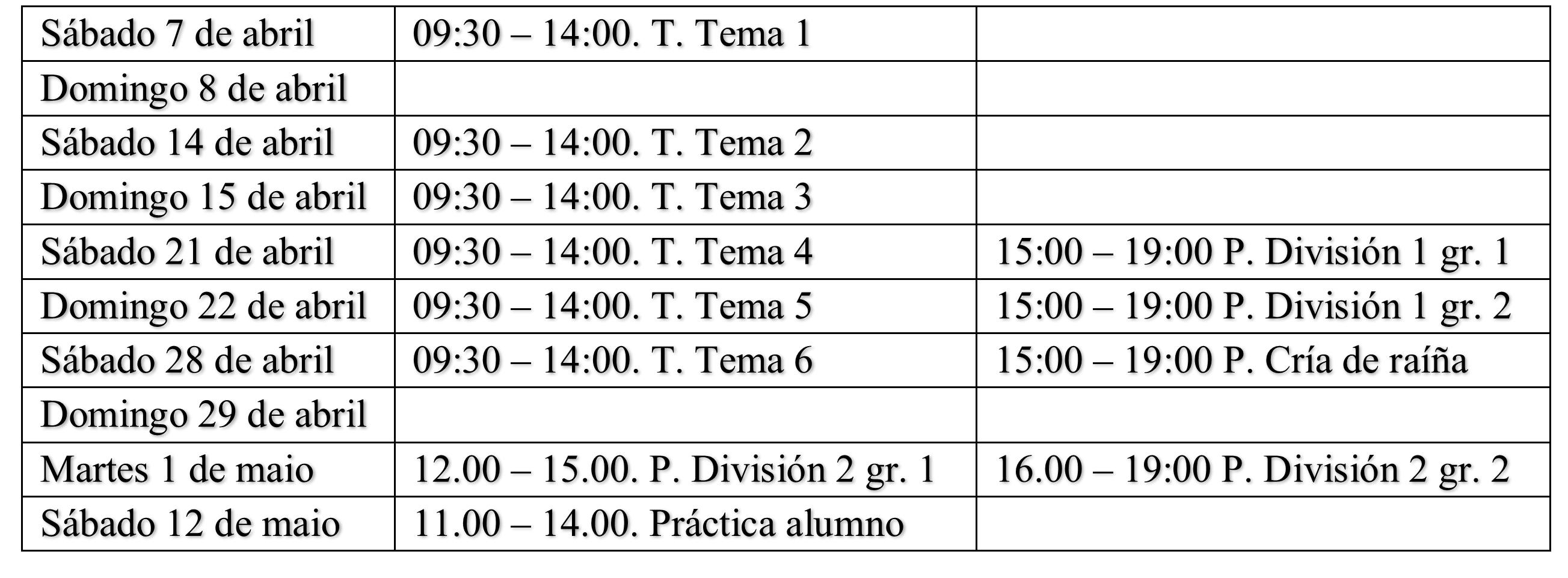Curso de división de colmenas y cría de reinas - Campo Galego
