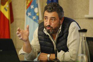 José Ramón González, presidente de A Vaca.