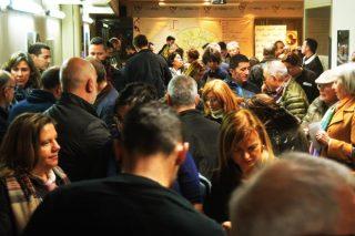Más de 200 personas participan en un túnel del vino de la D.O. Monterrei en A Coruña