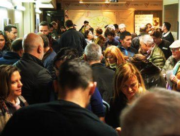 Máis de 200 persoas participan nun túnel do viño do D.O. Monterrei na Coruña