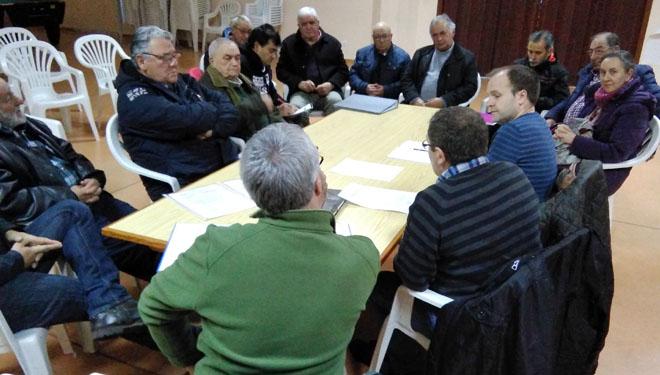 Reunión da Asociación Forestal de Galicia con comunidades de montes de Pazos de Borbén e Fornelos.